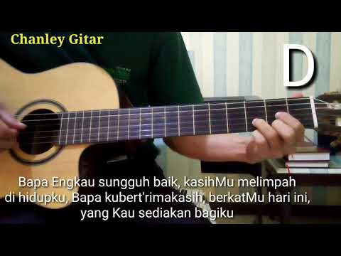 belajar gitar - Bapa Engkau sungguh baik