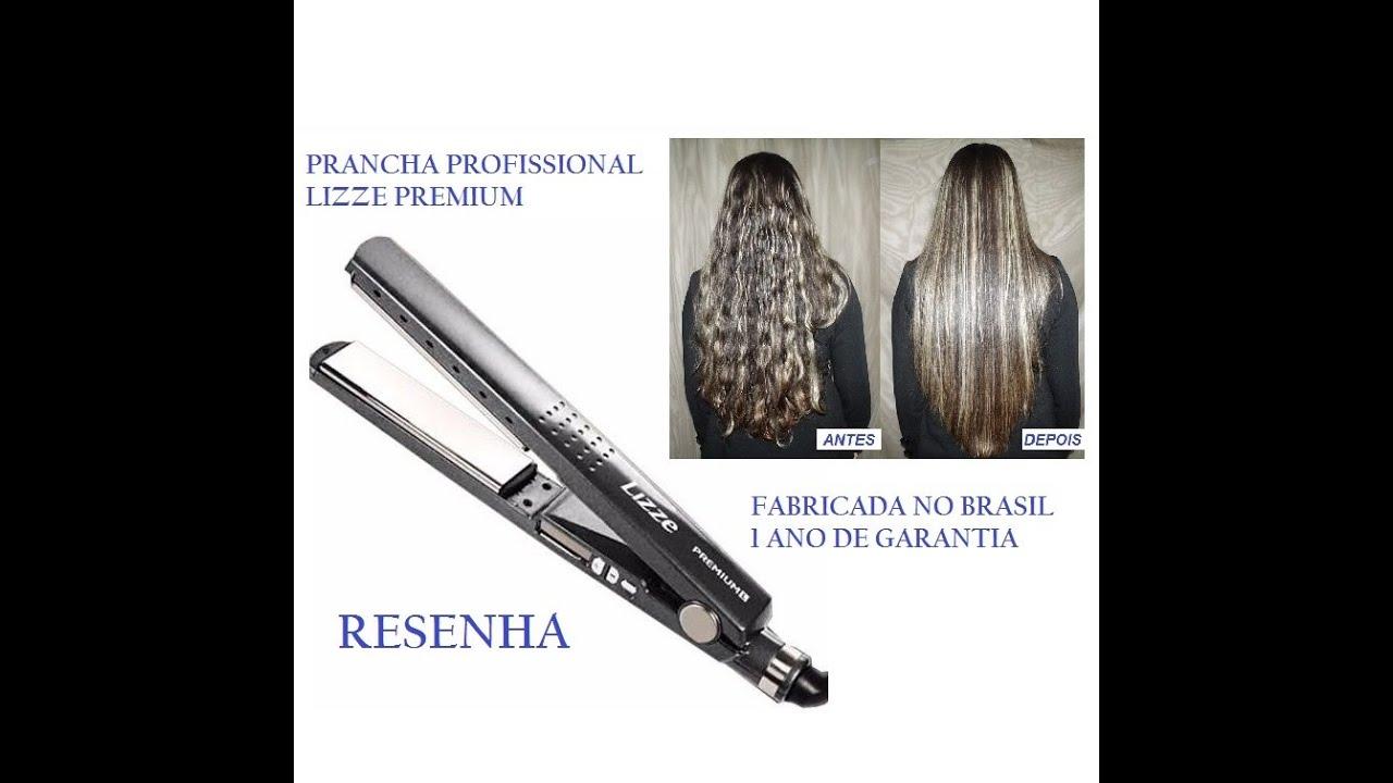 975225123 Resenha: Prancha Lizze Premium Titanium 240°C - Beleza10 - YouTube