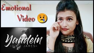 Yaadein ll Dino James ll A Broken 💔 Song ll Pahadigirl Reaction