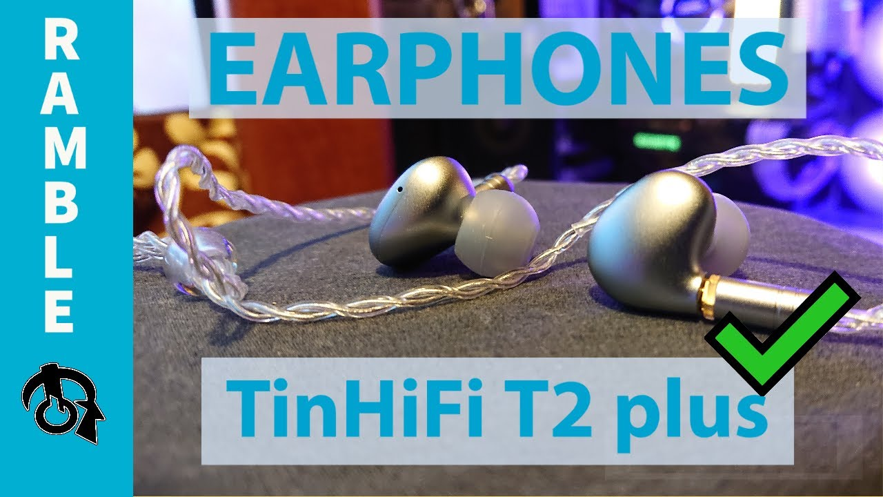 ✅TinHiFi T2 plus Earphones Ramble...(Review and compares coming)