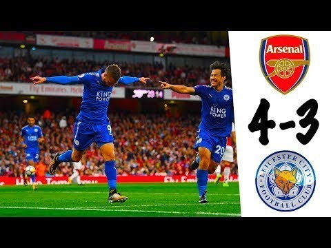 Arsenal vs Leicester City 4-3 Full Match Goals & Highlights - Premier League 2017