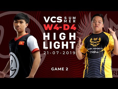 LK Vs GAM _HighLights [VCS Mùa Hè 2019][21.07.2019][Ván 2]