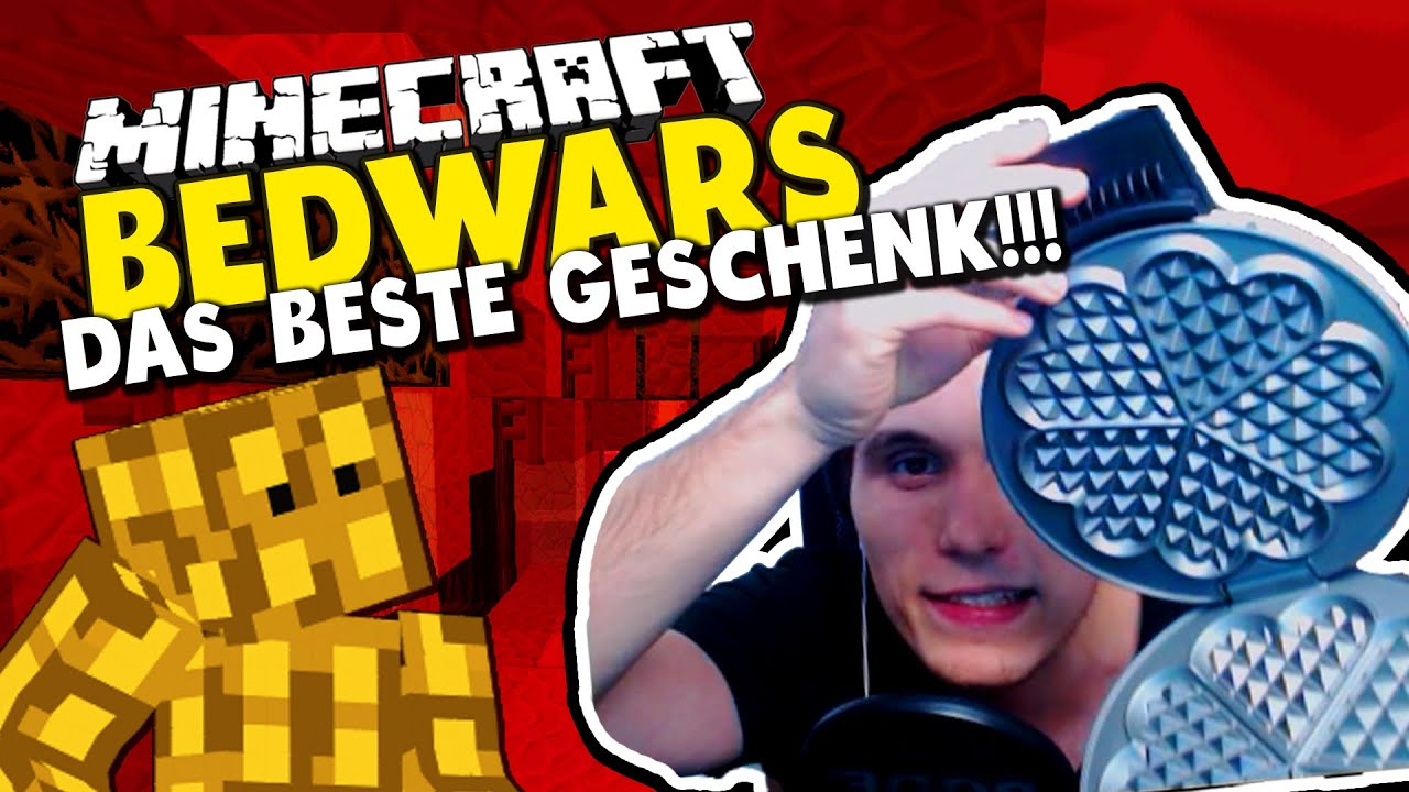 das beste geburtstagsgeschenk der welt minecraft bedwars woche tag 28 mit sturmwaffel youtube. Black Bedroom Furniture Sets. Home Design Ideas