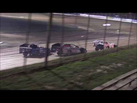 UMP Modified Heat #6 from Portsmouth Raceway/Dirt Track World Championship, 10/13/16.