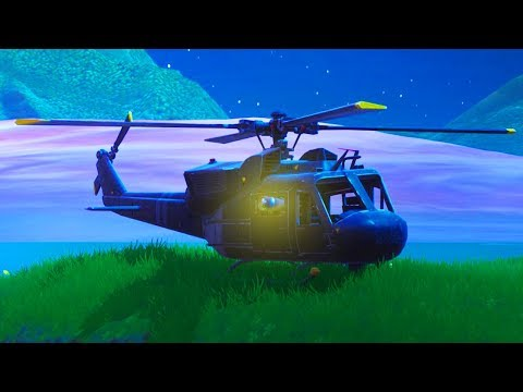 THEY'RE SPYING ON US!! *NEW* SEASON 8 Helicopter EXPLAINED.. (Fortnite Storyline EASTER EGGS)