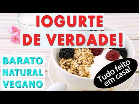 IOGURTE DE VERDADE  | 100% Natural e MEDICINAL | Vegano e sem lactose