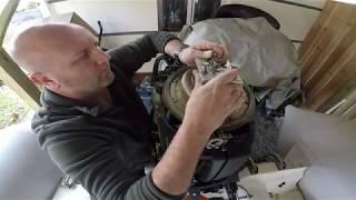 Comment remplacer la courroie de distribution d'un moteur yamaha 100cv 4temps