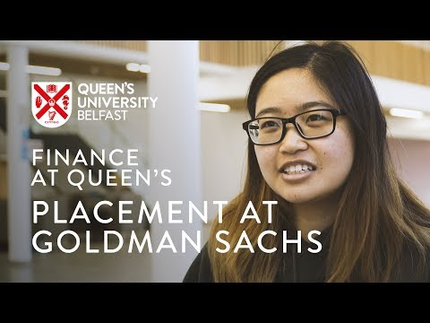 Placement at Goldman Sachs - Finance at Queen's - YouTube