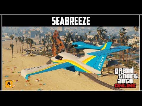 GTA Online: Новый самолет Seabreeze - Умеет нырять