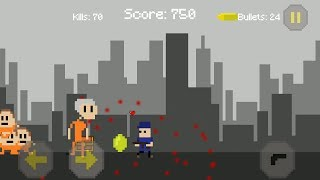 Pixel Aliens Attack Gameplay (Android Arcade Game)