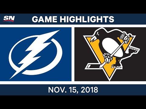 NHL Highlights | Lightning vs. Penguins – Nov. 15, 2018