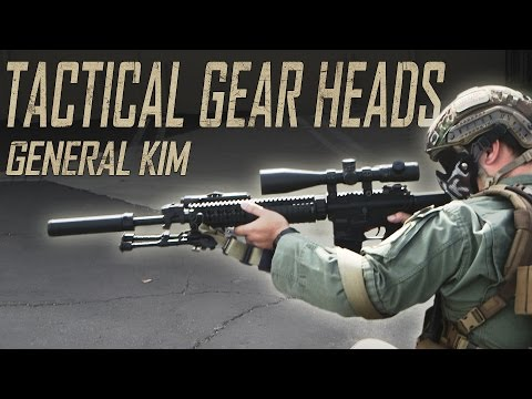 IMPERIAL COMMANDER   Tactical Gear Heads Feat. General Kim - Airsoft GI