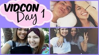 VIDCON Day 1: Arriving in LA, Youtube Friends & Polygamy!! Thumbnail