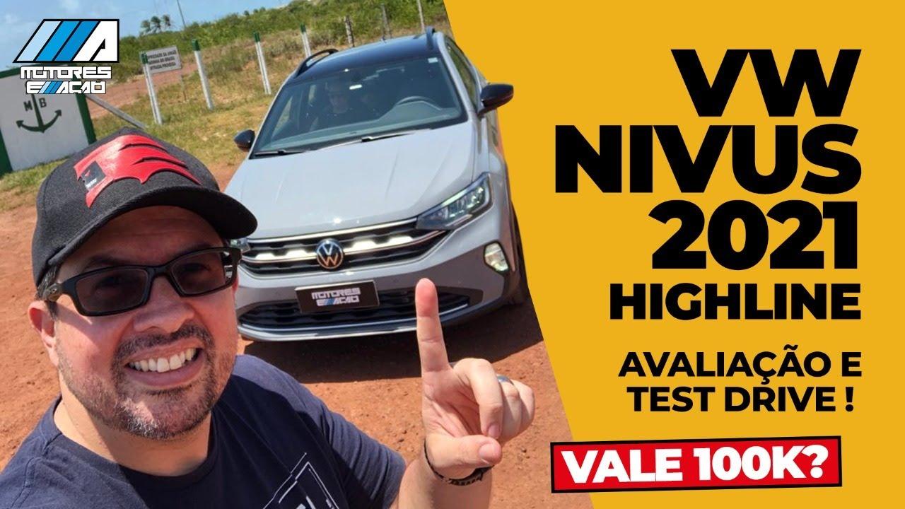 Novo Nivus Highline Volkswagen 2021 | Test-Drive | Impressões | motoreseacao