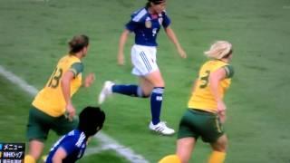 川澄・決勝ゴール・オーストラリア戦で!!なでしこジャパン !