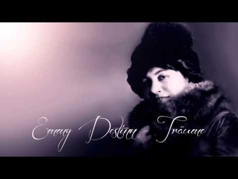 Emmy Destinn - Träume - 1908 / with subtitle & cleaned by Maldoror