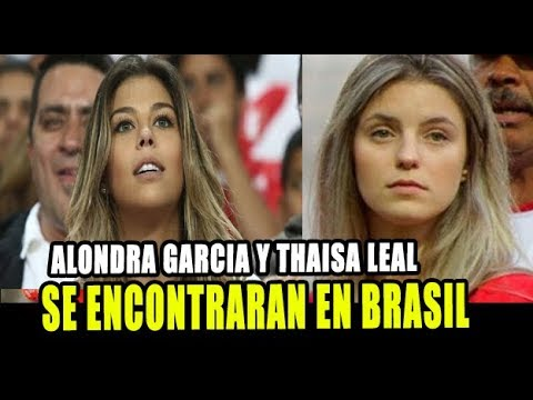 THAISA LEAL Y ALONDRA GARCIA SE ENCONTRARAN EN BRASIL POR LA COPA AMÉRICA
