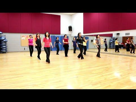 Paris In The Rain - Line Dance (Dance & Teach In English & 中文)