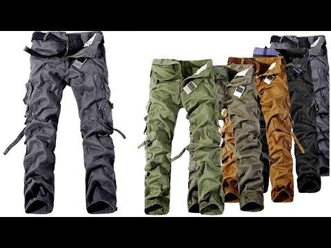 Полевые, походные, тактические, армейские или военные мужские штаны с карманами (aliexpress)
