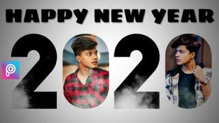 Happy New Year 2020 Photo Editing New year photo editing Picsart