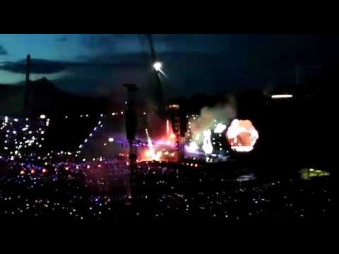 Munchen Olimpya Stadium 06/06/2017 concerto COLDPLAY