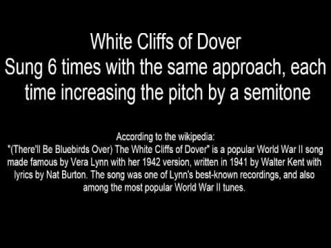 Personal Introduction Using White Cliffs Of Dover as an Example