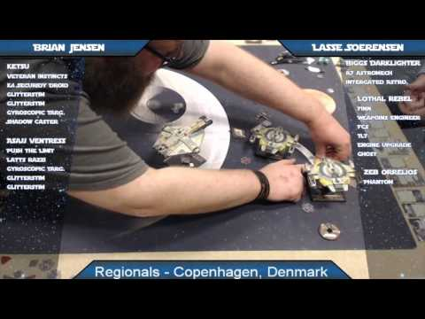 X-Wing Battle Report 67 - Copenhagen Regionals, Round 5