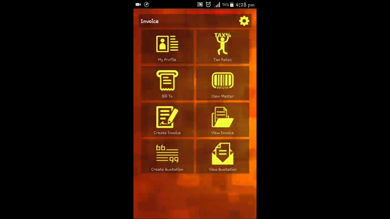 Bonrix Invoice Bill Printing Android App YouTube - Invoice asap android