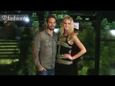Colcci Spring/Summer 2014 BACKSTAGE ft. Paul Walker | Sao Paulo Fashion Week | FashionTV