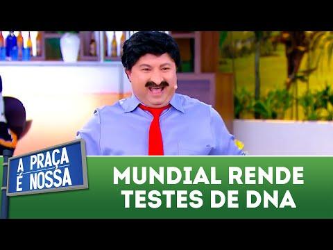 Mundial rende testes de DNA | A Praça é Nossa (19/07/18)