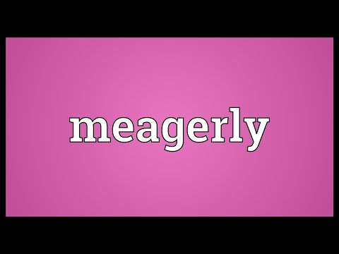 Header of meagerly