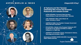 """Aspen Berlin AI Week 2020 - Day 1 - """"AI Typhoons and Tech Tycoons"""""""