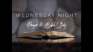 Prayer and Bible Study - Wed 9/23/2020