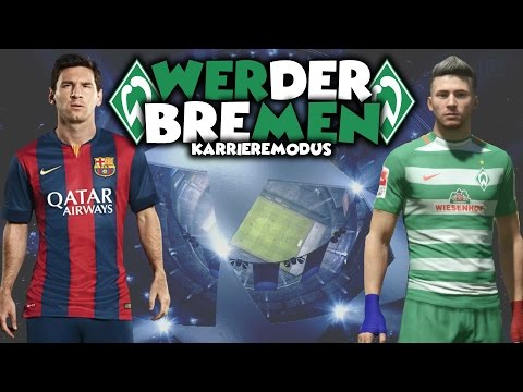 LIONEL MESSI VS. DANNY TAYLOR ⚽ FIFA 17 Karrieremodus Werder Bremen [S3E09]