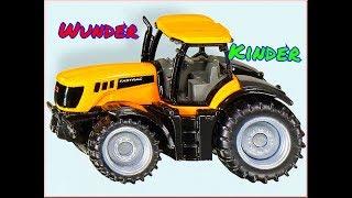 жёлтый трактор и большой трак монстр.мульт игра для детей.бибика трактор.короткий мультик для малыша
