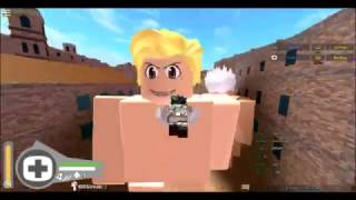 ROBLOX - GAMEPLAY #4 - ATTACK ON TITAN DOWNFALL