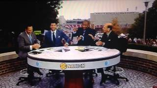 You tell them Tim Tebow, we will never accept a lame Gator chomp