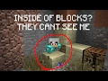 Hiding in blocks in Hypixel Skywars! | Hypixel Skywars #1