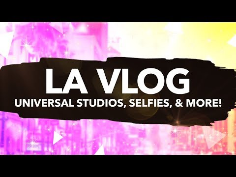 LOS ANGELES VLOG! w/ THE KREW