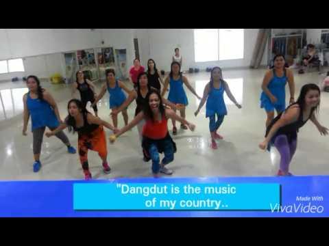 """DANGDUT"""" MERIANG....BY CITA CITATA  (my choreo)"""