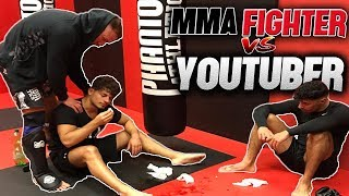 YOUTUBER vs. MMA FIGHTER - FINAL FIGHT l Yavi TV