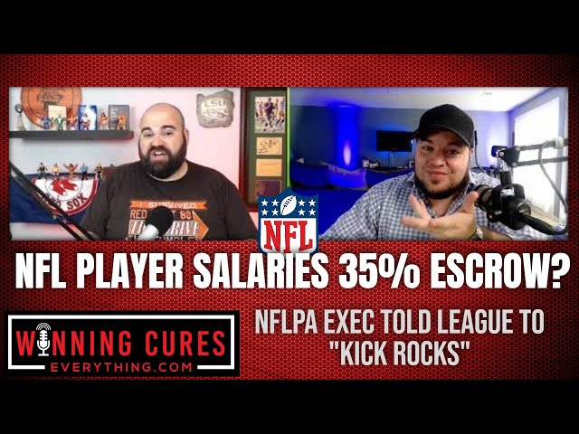 NFL suggests putting 35% of player salaries into escrow?