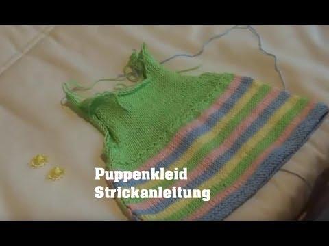 Puppenkleider Stricken Teil 1 Anfang Youtube