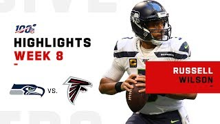 Russell Wilson Finishes w/ 2 TDs | NFL 2019 Highlights