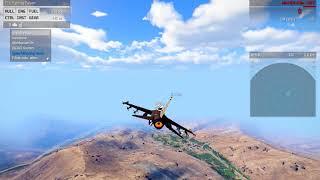 Arma 3 : Abbatage d'un avion (Mig-29SM)