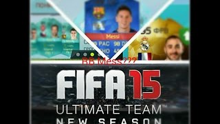 Fifa 15 ios/android Открытие паков #7 RB Messi???