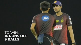 Last-over thriller! KKR Cinematic Practice-Match Full Highlights: DK XI vs Shubman XI | IPL2020