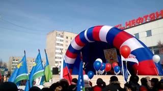 'Легендарный Севастополь' в сибирском городе Лангепас, Сибирь-Крым-Россия - Вместе навсегда