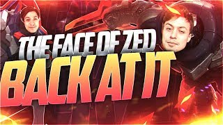 LL STYLISH | THE FACE OF ZED BACK AT IT AGAIN!