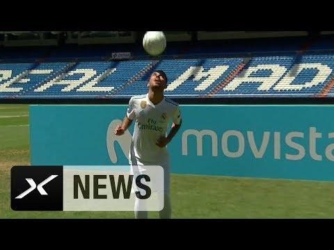 Ceballos-Vorstellung: Note 1 beim Jonglieren | Real Madrid
